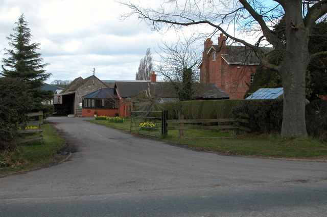 Farm buildings at Clehonger Court