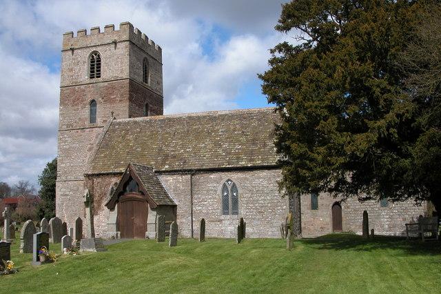 All Saints Church, Clehonger