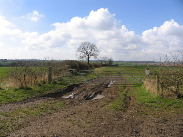 Footpath to Keyham on 10 April 2006