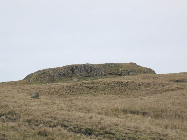Crags above Meadale