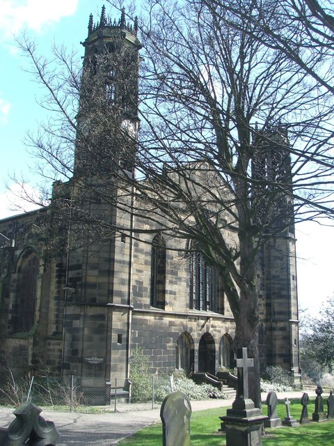 St Peters church, Stanley.