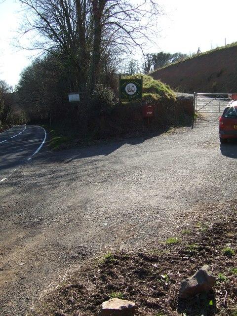 Entrance to Cornish Owl Centre
