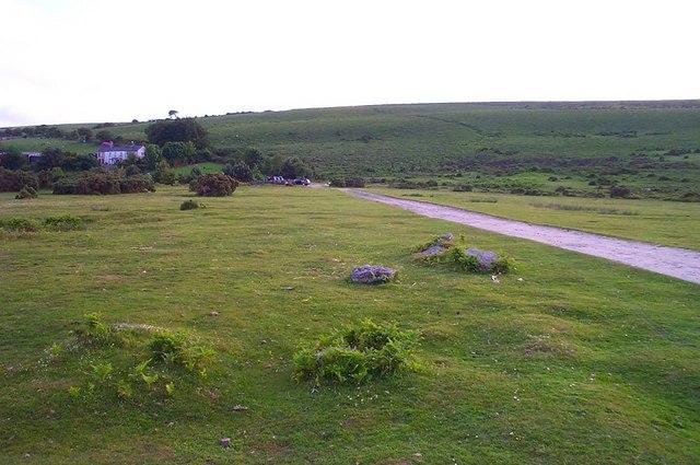 Near Great Ensworthy - Dartmoor