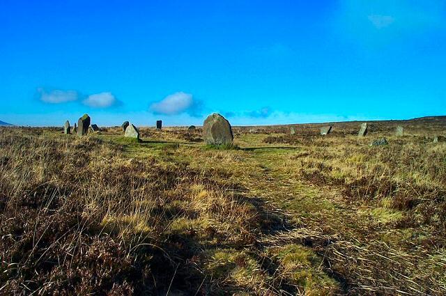 Stone circle - Dartmoor