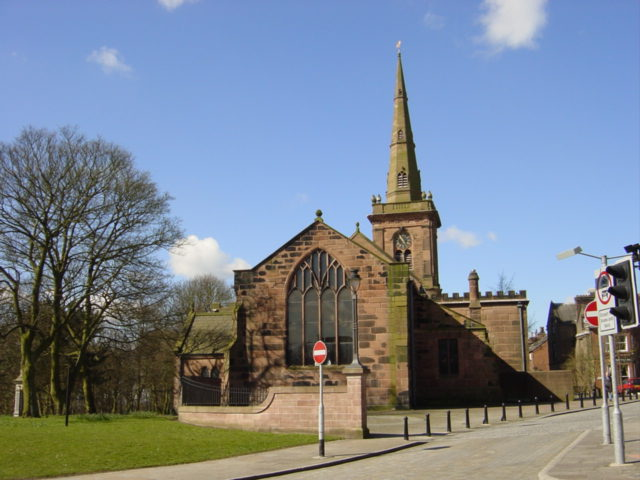 St. Mary's Parish Church, Prescot