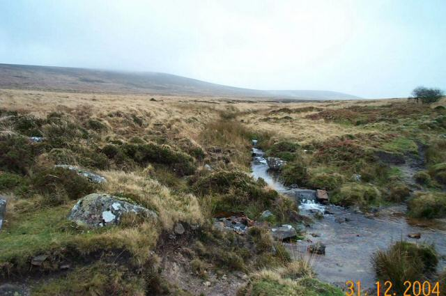 The ford over Lady Brook - Dartmoor