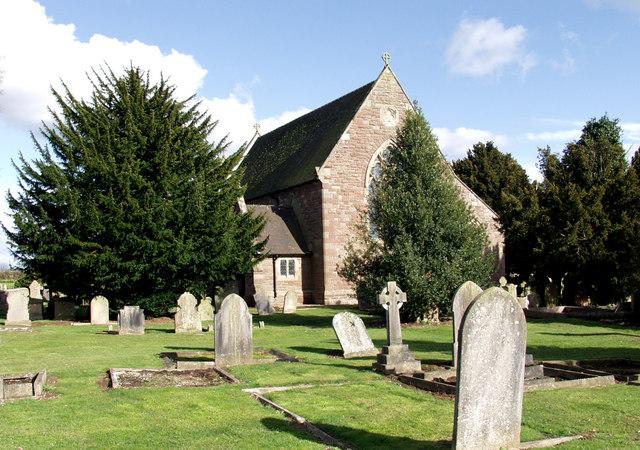 The Parish Church of St. Philip & St. James Morton