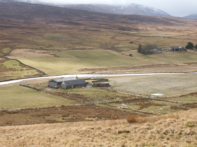 Farm building at Braemore