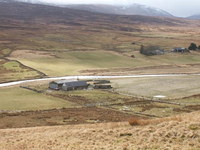 Farm building at Braemore