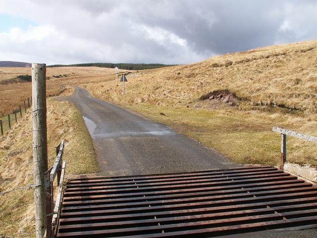 Road into Braemore