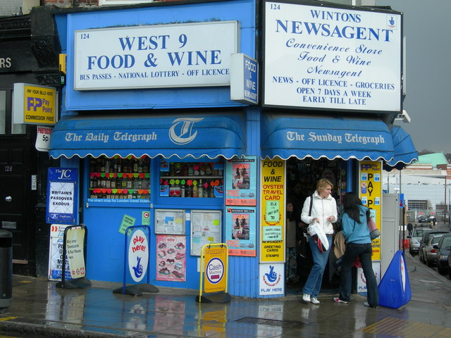 Newsagent on West End Lane NW6