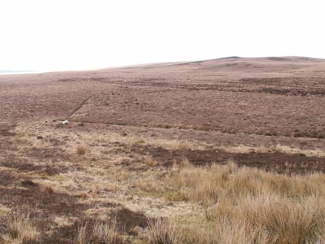 Moor above Braemore