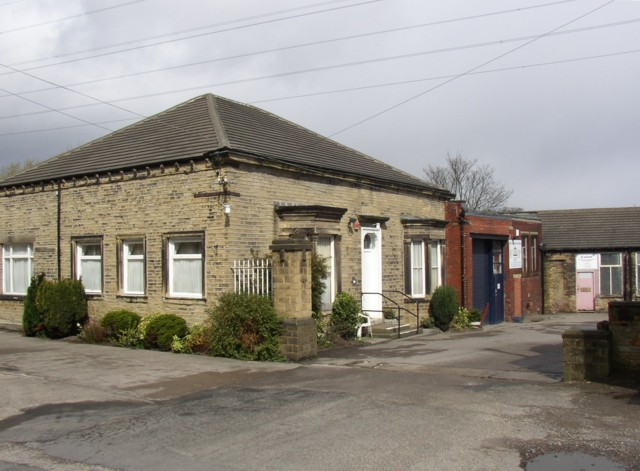 Building in former Dyeworks,  Dyehouse Lane, Rastrick