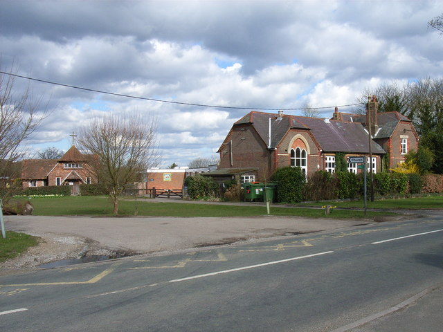 Church and school, Hyde Heath