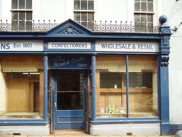 Shopfront, Berwick