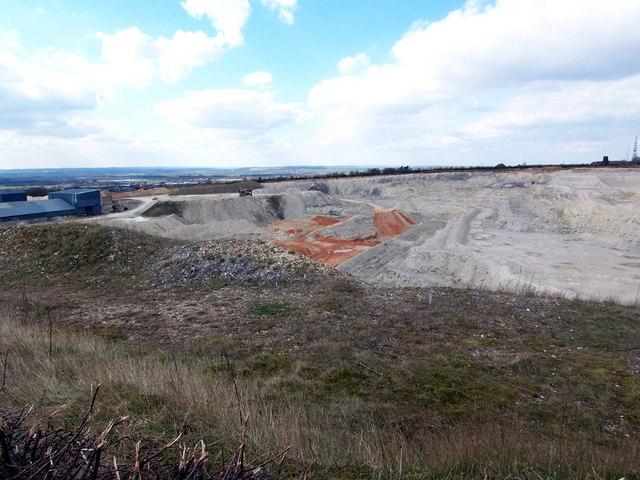 Mansgate Chalk Quarry