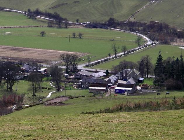 Winkston Farm, near Peebles