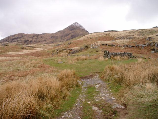 Path below Cnicht