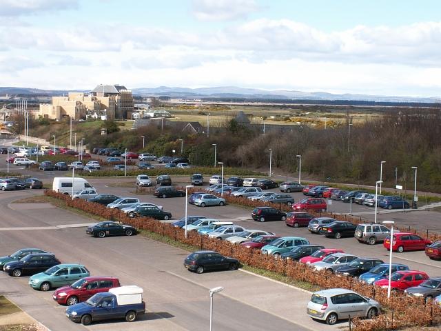 Petheram Bridge Car Park, St Andrews
