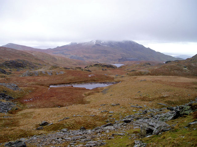 Head of Cwm Corsiog