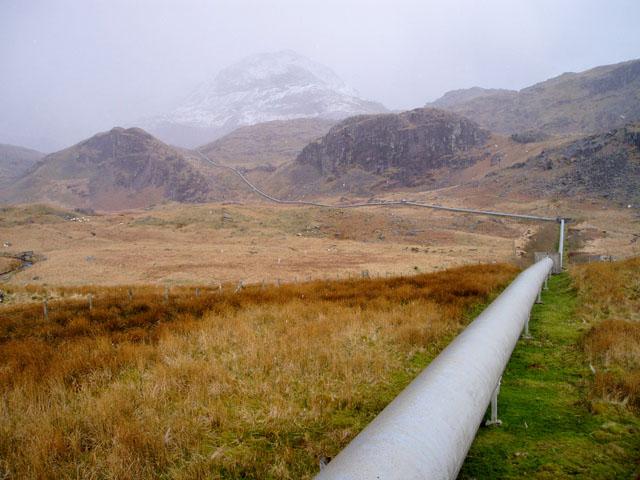 Cwm Dyli pipeline