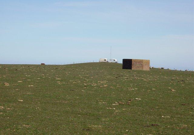 Lamberton Moor, the summit