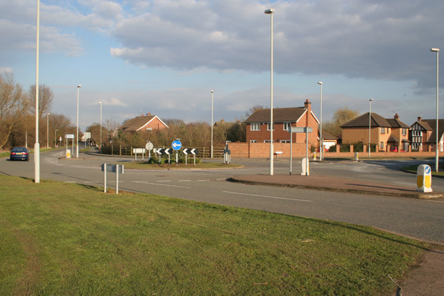 Roundabout on Halstead Road, Mountsorrel