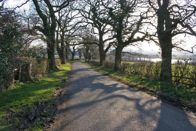 Kinchley Lane near Mountsorrel, Leicestershire