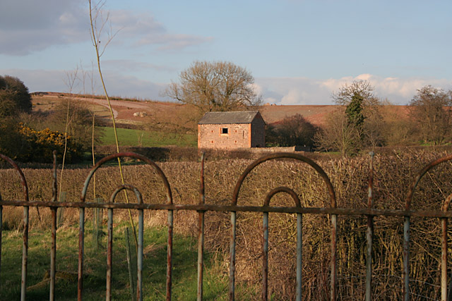 Stone barn near Swithland Reservoir