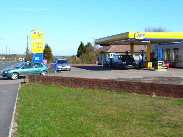 Jet petrol station on the A177, Bowburn
