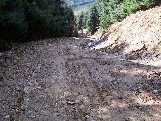 Dunoon, Tom Odhar-Bishops Glen Track