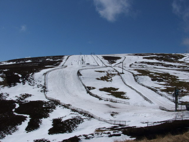 April Skiing on the Lecht