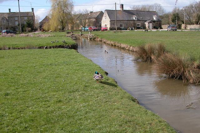 The Green at Bledington