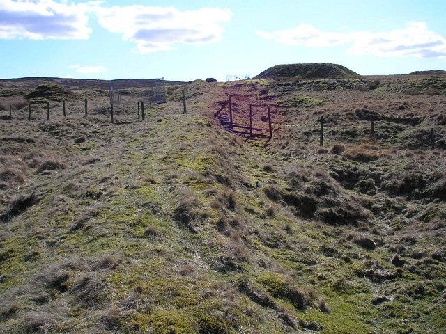 Coal mines on Threshfield Moor