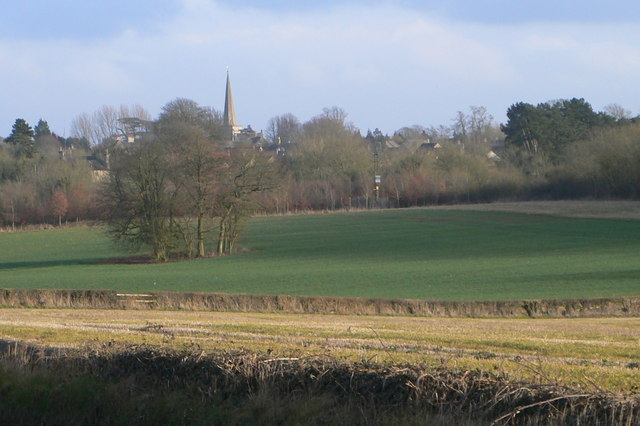 Overlooking Kemble Village