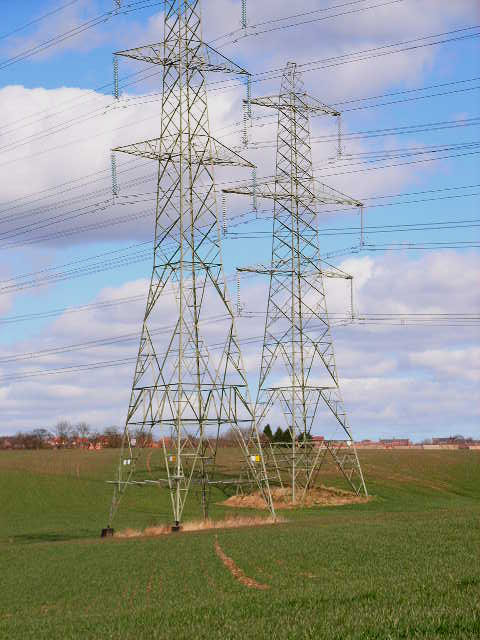 Twin pylons