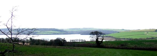 Lynher River near Erth Barton