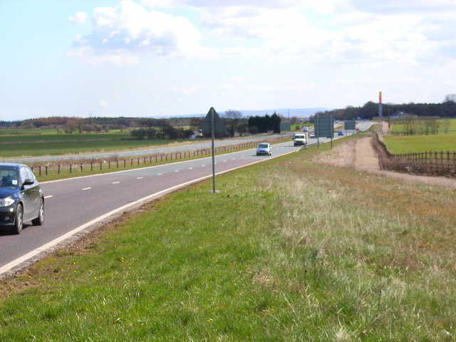 A689 road linking A1(north) with Teesside