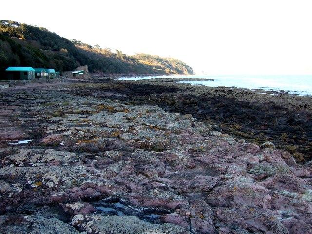Rocks near Sandway Point