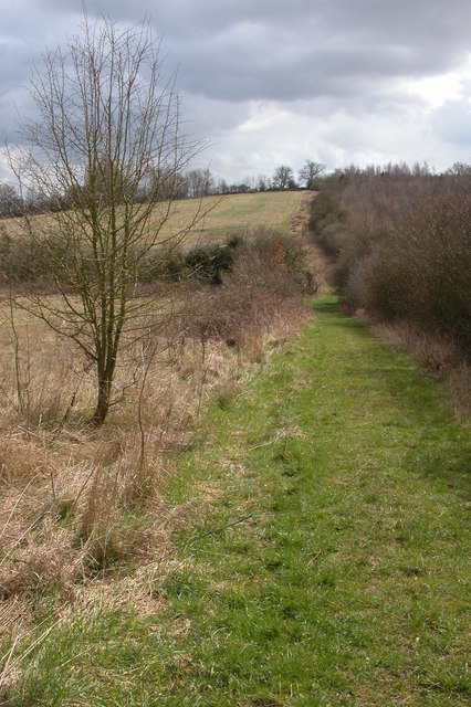 The Diamond Way to the east of Gawcombe