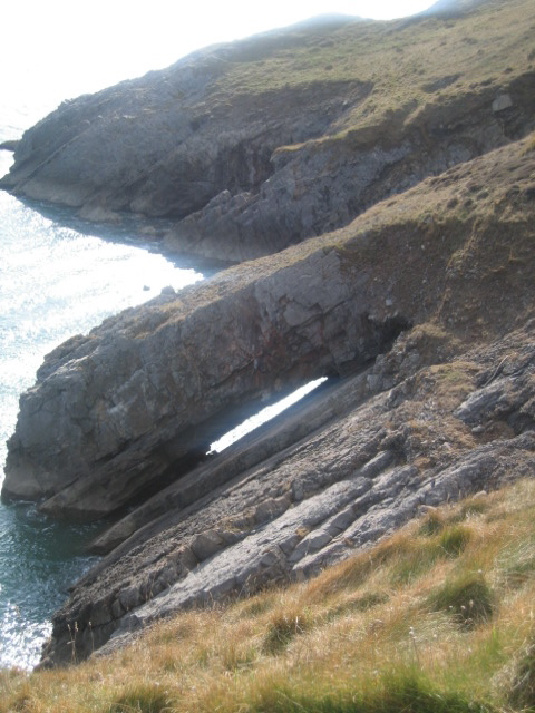 Arch on Newton Cliff
