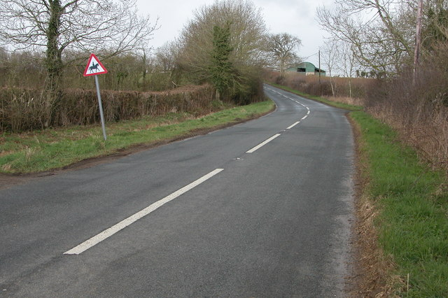 B4450 where it passes Mickland's Hill Farm