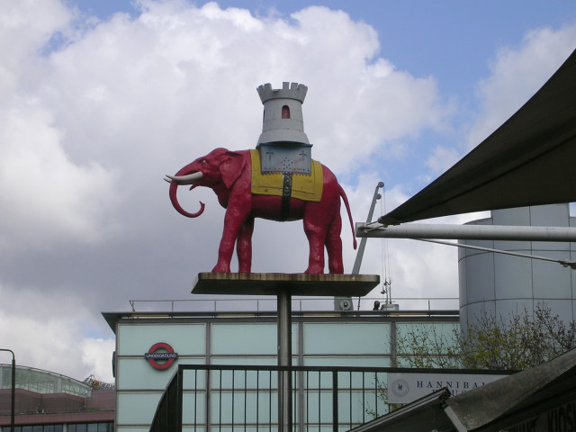 Elephant and Castle at Elephant and Castle