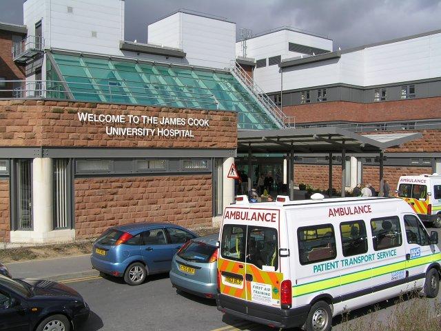 South Entrance James Cook University Hospital
