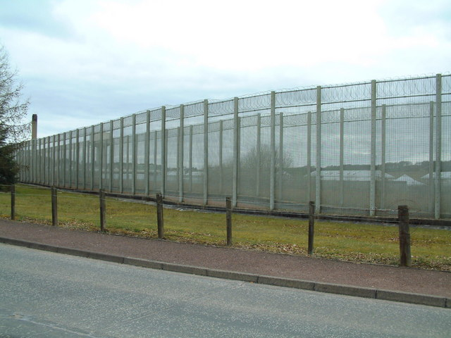Prison Fence - from the outside