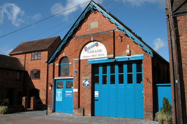 Shipps Garage, Upton upon Severn