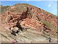 SX3852 : Rock Formation, Blarrick Cliff by Rob Farrow