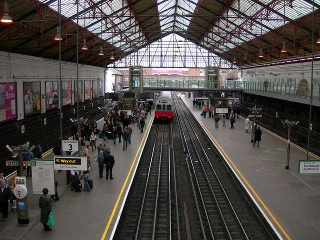 Earls Court Tube Station, inside