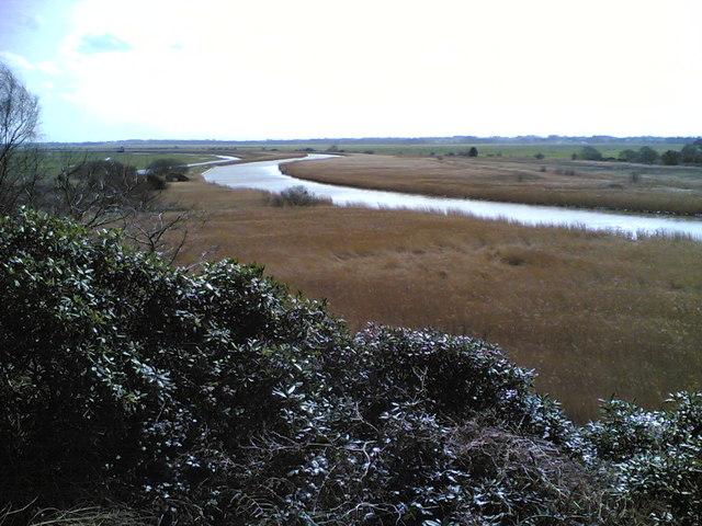 River Waveney, Herringfleet marshes