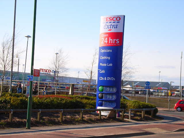 Tesco's, Dragon Lane, Durham